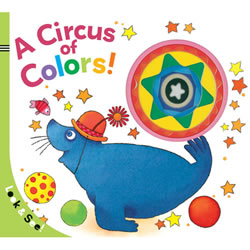 Circus of Colors - Board Book
