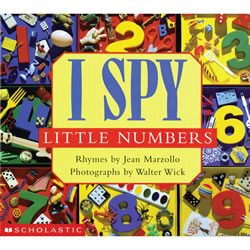 I Spy Little Numbers - Board Book