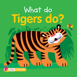 What Do Tigers Do? - Board Book