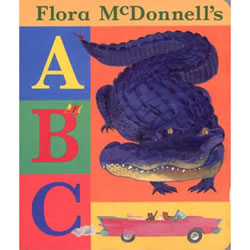 Flora McDonnell's ABC - Board Book