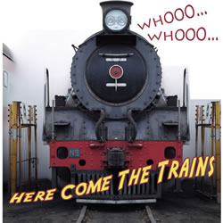 Whoo...Whoo...Here Come the Trains - Board Book
