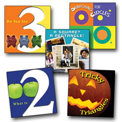 Counting and Math Board Books (Set of 5)