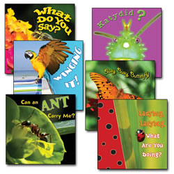 Living Creatures Book Set (Set of 6)