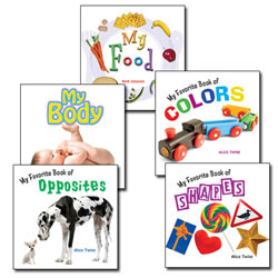 True to Life Board Book Set 1 (Set of 5)