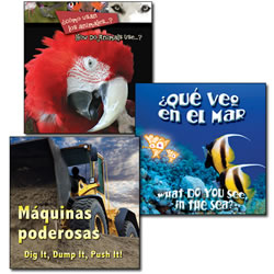Early Adventures Bilingual Board Book Set (Set of 3)