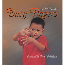 Busy Fingers - Board Book