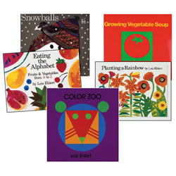 Lois Ehlert Board Book Set (Set of 5)