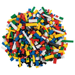 LEGO® Bricks Set - 884 Pieces