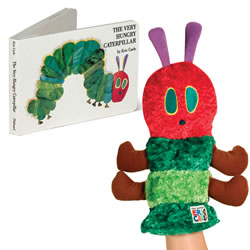 The Very Hungry Caterpillar Book & Puppet Set