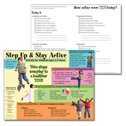 Step Up and Stay Active Tablet  (50 sheets)