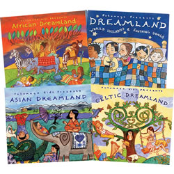 Putumayo Kids Dreamland CD Collection (Set of 4)