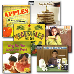 All About the Foods We Eat Book Set