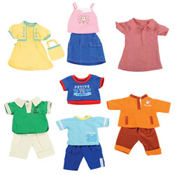 "14""-16"" Doll Playwear Set"