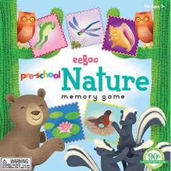 Preschool Nature Memory Game
