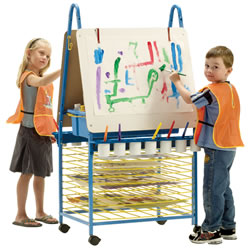 Easel & Drying Rack Combo