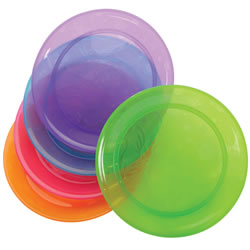Colorful Plates (Set of 5)