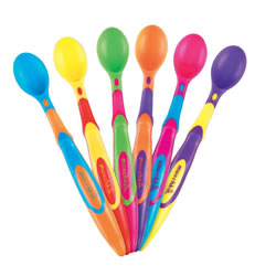 Soft-Tip Infant Spoons (set of 6)
