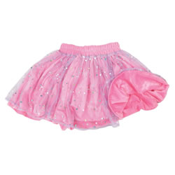 Fancy Dance Reversible Skirts (Purple Netting & Pink Velvet)