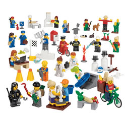 LEGO® Minifigure Set (Set of 22)
