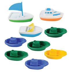 Floating Boats Water Fun
