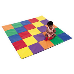 Patchwork Crawley Mat Primary