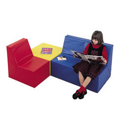 School Age Play Seating Set