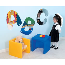 ABC Wall Mirror Pieces