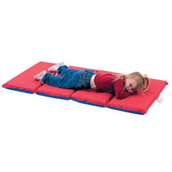"4 Fold 1"" Infection Control Rest Mat - Single"