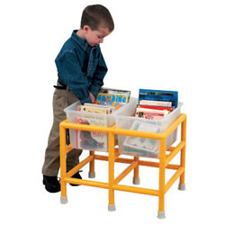 Toddler Double Book Display Bin