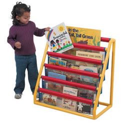 5 Pocket Clear Book Display
