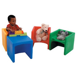 Cube Chairs - Different Colors