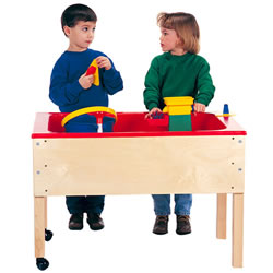 Sand/Water Table with Red Tub - 24""