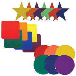 Colors and Shapes Activity Mats