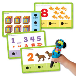 Hot Dots® Jr. Numbers and Counting Cards