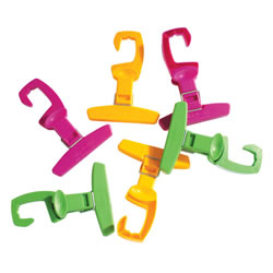Clip-A-Zip - Set of 6 Clips