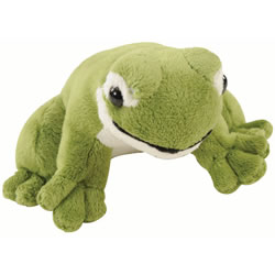 Plush Green Frog with Sound