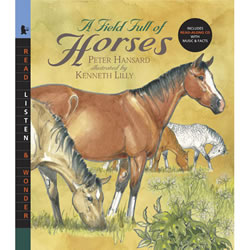 A Field Full of Horses - Paperback & CD