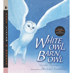 White Owl, Barn Owl - Paperback & CD