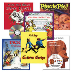 Classic Read Aloud Book and CD Set (Set of 6)