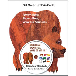 Brown Bear, Brown Bear, What Do You See? - Paperback & CD
