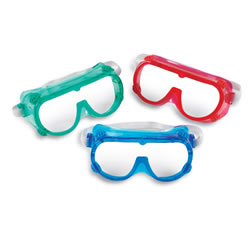 Color Safety Googles (Set of 6)