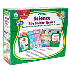 Science File Folder Games - Grades 2-3