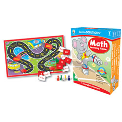 CenterSOLUTIONS® Math Learning Games - Grade 1