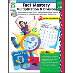 Fact Mastery Multiplication & Division