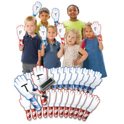 """Hands-Up"" Answer Dry-Erase Boards"