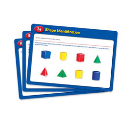 Folding Geometric Shapes Activity Cards