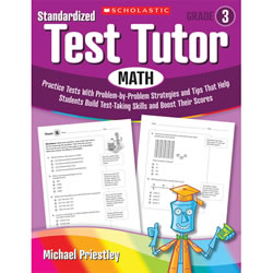 Standardized Test Tutor - Math - Grade 3
