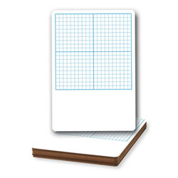 Graph Dry Erase Boards (set of 12)