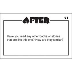Guided Reading Question Cards - Fiction