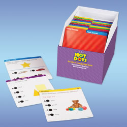 Hot Dots® Standards-Based Language Arts Cards